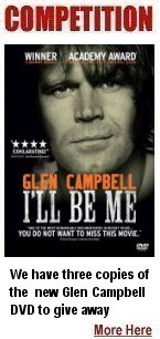 click here to win Glen Campbell DVD